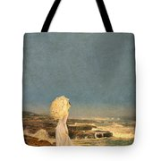 Victorian Lady By The Sea Tote Bag