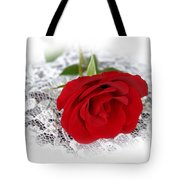 Victorian Rose Tote Bag