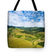 Vietnam Rice Terraces Tote Bag