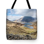 View From Glyder Fawr Tote Bag