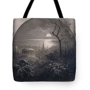 View From Greenwood Cemetery Tote Bag