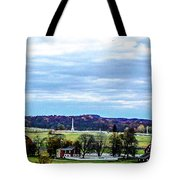 View From Longstreet Tower Tote Bag