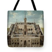 View Of A Castle Tote Bag