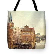 View On A River Tote Bag