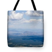 Views From The Pikes Peak Highway Tote Bag