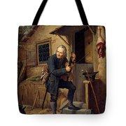 Village Violinist Tote Bag