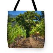 Vineyard Sauvignon Blanc Grapes Tote Bag