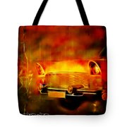 Vintage Car 2 Neons Edition Tote Bag