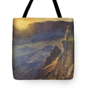 Vintage Hawaiian Art Tote Bag