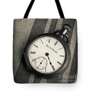 Vintage Pocket Watch Tote Bag