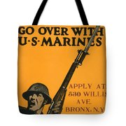 Vintage Recruitment Poster Tote Bag