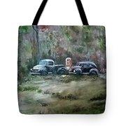 Vintage Vehicles Tote Bag