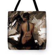 Violin Lady  Tote Bag