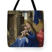Virgin And Child In An Interior Tote Bag