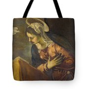 Virgin From The Annunciation To The Virgin Tote Bag