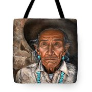 Vision Of The Past Tote Bag