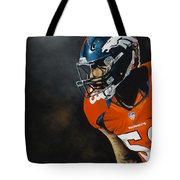 Von Miller Tote Bag by Don Medina