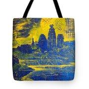 Vrindavan Spiritual Sky Tote Bag