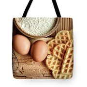 Waffles And Eggs Tote Bag