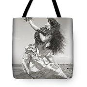 Wahine Hula Tote Bag