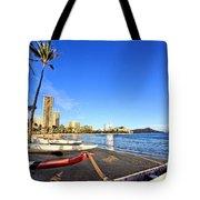 Waikiki Hawaii Tote Bag