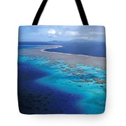 Wakaya Island Aerial Tote Bag