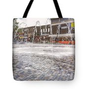 Wakefield City Centre Fountain Tote Bag