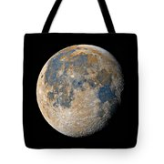 Waning Gibbous Moon / Day 18 Tote Bag