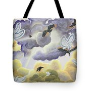 War In Heaven Tote Bag