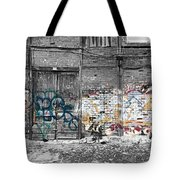 Warehouse In Lisbon Tote Bag