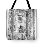 Wash Day In Montalcino Italy Tote Bag