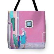 Washing Day, Burano, Venice Tote Bag