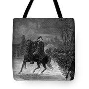 Washington At The Battle Of Trenton Tote Bag
