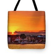 Washington Sunrise Tote Bag