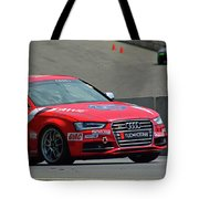 Watch Out Audi Tote Bag