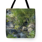 Water And Wildflowers Tote Bag