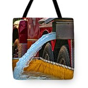 Water Dump Tote Bag