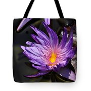 Water Floral Tote Bag