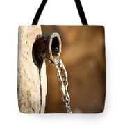 Water In Nature Tote Bag