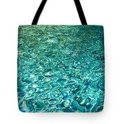 Water Patterns Tote Bag