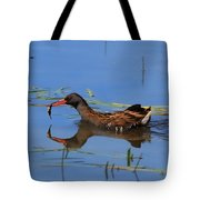 Water Rail With Fish Tote Bag