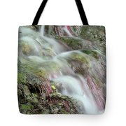 Water Spring Scene Tote Bag