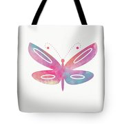 Watercolor Butterfly 2- Art By Linda Woods Tote Bag