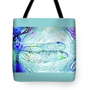 Watercolor Wings Tote Bag