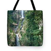 Waterfall Highlands Of Guatemala 1 Tote Bag