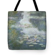 Waterlilies Tote Bag by Claude Monet