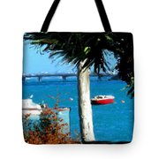 Watford Bridge From Cambridge Beaches Tote Bag