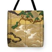 Waves At Matsushima Tote Bag