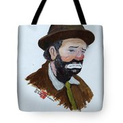 Weary Willie The Clown Tote Bag
