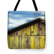 Weathered Wooden Barn, Gaviota, Santa Tote Bag